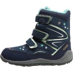 Buty zimowe damskie: Kappa STELLAR TEX Śniegowce navy/mint