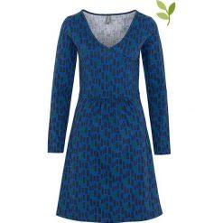 """Sukienki hiszpanki: Sukienka """"Axun"""" w kolorze niebieskim"""