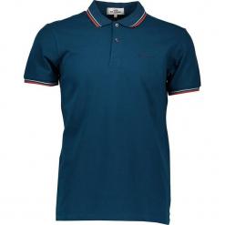 Koszulka polo w kolorze granatowym. Niebieskie koszulki polo marki Ben Sherman, m, z haftami, z bawełny. W wyprzedaży za 108,95 zł.