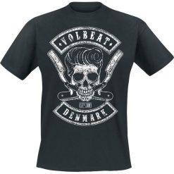 T-shirty męskie: Volbeat Denmark Skull T-Shirt czarny