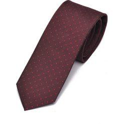 KRAWAT MĘSKI WE WZÓR. Szare krawaty męskie marki Top Secret, eleganckie. Za 29,99 zł.