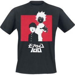 T-shirty męskie z nadrukiem: Mob Psycho 100 Logo T-Shirt czarny