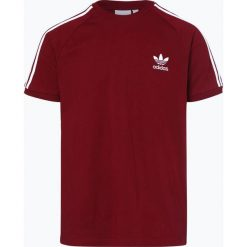 Adidas Originals - T-shirt męski, czerwony. Czerwone t-shirty męskie adidas Originals, l, w paski. Za 139,95 zł.