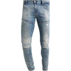 GStar 5620 3D SUPER SLIM Jeans Skinny Fit lor superstretch. Niebieskie jeansy męskie relaxed fit marki G-Star, z bawełny. W wyprzedaży za 363,35 zł.