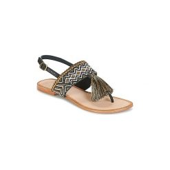 Sandały Lollipops  BEADS FLAT SANDAL. Szare sandały trekkingowe damskie marki Lollipops. Za 207,20 zł.