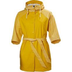 Bomberki damskie: Kurtka przeciwdeszczowa w kolorze żółtym