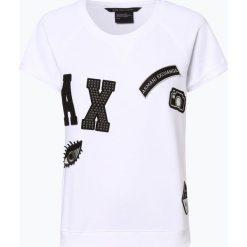 Armani Exchange - Damska bluza nierozpinana, czarny. Czarne bluzy damskie marki Armani Exchange, l, z materiału, z kapturem. Za 529,95 zł.