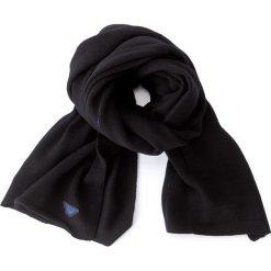 Szal ARMANI JEANS - 934105 7A732 35520 Nero/Bluette. Czarne szaliki damskie marki Armani Jeans, z jeansu. W wyprzedaży za 359,00 zł.