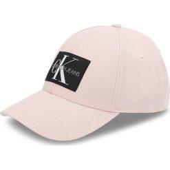 Czapka z daszkiem CALVIN KLEIN JEANS - J Monogram Cap W K40K400753 632. Czerwone czapki z daszkiem damskie Calvin Klein Jeans, z bawełny. Za 159,00 zł.
