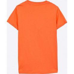 Pepe Jeans - T-shirt dziecięcy 122-180 cm. Szare t-shirty chłopięce z nadrukiem Pepe Jeans, z bawełny, z okrągłym kołnierzem. Za 79,90 zł.