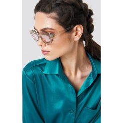 Okulary przeciwsłoneczne damskie aviatory: Le Specs Okulary przeciwsłoneczne Fluxus – Pink
