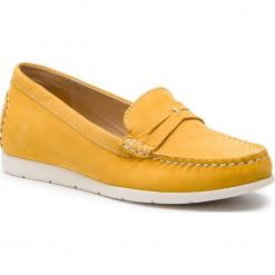 Mokasyny CAPRICE - 9-24251-22 Yellow Nubuc 601. Żółte mokasyny damskie Caprice, z materiału. Za 239,90 zł.