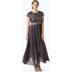 Odzież damska: Marie Lund - Damska sukienka wieczorowa, szary