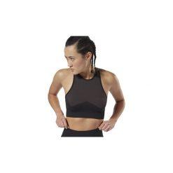 Biustonosze Reebok Sport  Top Workout Seamless. Czarne topy sportowe damskie Reebok Sport, l. Za 159,00 zł.