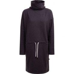 Sukienka damska SUDD601 - ciemny szary melanż - Outhorn. Szare sukienki dzianinowe Outhorn, melanż. W wyprzedaży za 69,99 zł.