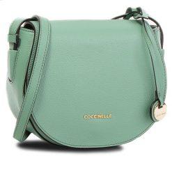Torebka COCCINELLE - CF8 Clementine Soft E1 CF8 15 02 01 Jade G01. Zielone listonoszki damskie Coccinelle, ze skóry. W wyprzedaży za 699,00 zł.