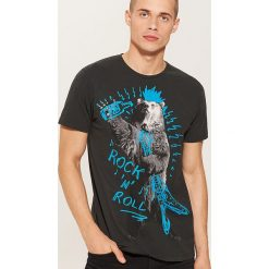 T-shirty męskie: T-shirt rock and roll - Szary