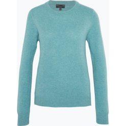 Marie Lund - Sweter damski z wełny merino, niebieski. Niebieskie swetry klasyczne damskie Marie Lund, xxl, z wełny. Za 229,95 zł.