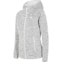 Bluzy rozpinane damskie: Bluza damska BLD302 - chłodny jasny szary