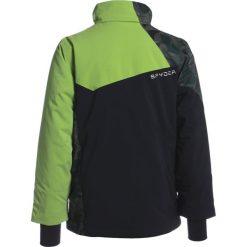 Spyder AMBUSH Kurtka narciarska black/mini guard camo/fresh. Brązowe kurtki chłopięce sportowe Spyder, z materiału, narciarskie. W wyprzedaży za 629,25 zł.