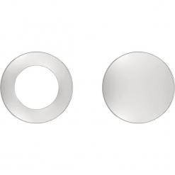 Kolczyki-wkrętki. Szare kolczyki damskie s.Oliver & Liebeskind, ze stali. W wyprzedaży za 74,95 zł.