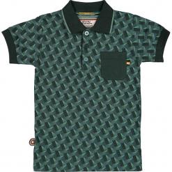 """Koszulka polo """"Wings Of Love"""" w kolorze zielonym. Zielone t-shirty chłopięce marki 4FunkyFlavours Kids. W wyprzedaży za 82,95 zł."""