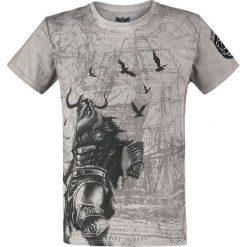T-shirty męskie: Black Premium by EMP Rebel Soul T-Shirt szary