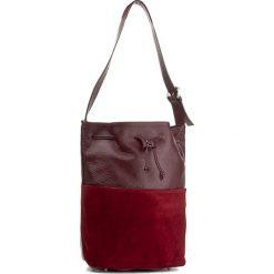 Torebka CREOLE - K10417 Dolaro Z. Bordo. Czerwone torebki worki Creole, ze skóry. W wyprzedaży za 239,00 zł.