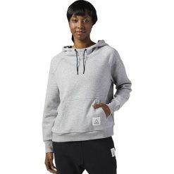 Reebok Bluza damska Wor CS OTH Hoodie szara r. S (BP8237). Szare bluzy sportowe damskie marki Reebok, l, z dzianiny, casualowe, z okrągłym kołnierzem. Za 186,63 zł.