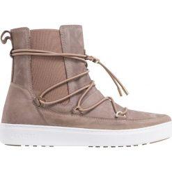 40434ff944eb4 Buty MOON BOOT MERCURY LONDON. Brązowe buty zimowe sportowe męskie Moon  Boot, bez zapięcia