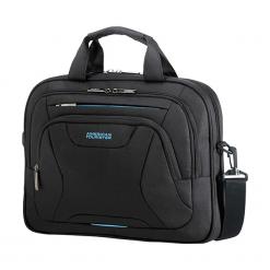 "American Tourister AT Work 13.3"" - 14.1"" czarna. Czarne torby na laptopa marki Samsonite. Za 159,00 zł."
