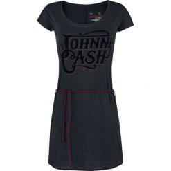 Johnny Cash EMP Signature Collection Sukienka ciemnoszary/czerwony. Czarne sukienki na komunię marki Mohito, l, z dekoltem na plecach. Za 89,90 zł.