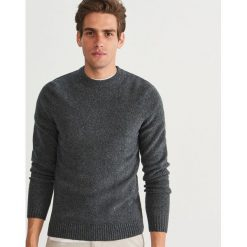 Sweter - Szary. Szare swetry klasyczne męskie marki Reserved, l. Za 119,99 zł.