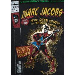Little Marc Jacobs Bluzka z długim rękawem schwarz. Czarne bluzki dziewczęce bawełniane marki Little Marc Jacobs, z długim rękawem. W wyprzedaży za 147,95 zł.