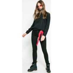Roxy - Bluza Ride Freely. Czarne bluzy rozpinane damskie Roxy, l, z bawełny, bez kaptura. W wyprzedaży za 139,90 zł.