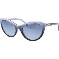 """Okulary przeciwsłoneczne damskie aviatory: Okulary przeciwsłoneczne """"JC558S 22C"""" w kolorze szaro-czarnym"""