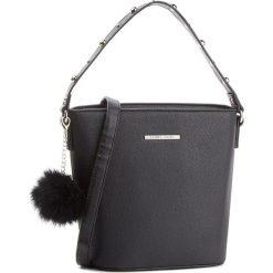 Torebka JENNY FAIRY - RC15408 Black. Czarne torebki klasyczne damskie marki Jenny Fairy, ze skóry ekologicznej. Za 69,99 zł.