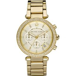 Zegarek MICHAEL KORS - Parker MK5354  Gold/Gold. Żółte zegarki damskie Michael Kors. Za 1390,00 zł.