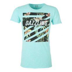 Q/S Designed By T-Shirt Męski L Turkusowy. Niebieskie t-shirty męskie marki Oakley, na lato, z bawełny, eleganckie. W wyprzedaży za 69,00 zł.