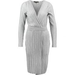 Sukienki hiszpanki: Soft Rebels LEA WRAP AROUND Sukienka letnia light grey melange