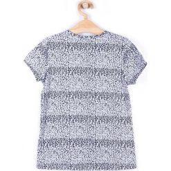 Coccodrillo - Top dziecięcy 122-134 cm. Białe bluzki dziewczęce marki COCCODRILLO, m, z bawełny, z okrągłym kołnierzem. Za 39,90 zł.