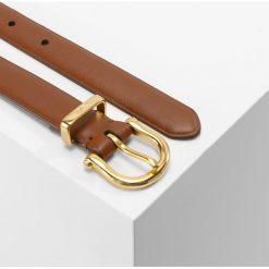 Polo Ralph Lauren STIRRUP Pasek saddle. Szare paski damskie Polo Ralph Lauren, w paski, z materiału. Za 419,00 zł.