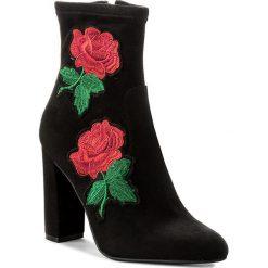 Botki STEVE MADDEN - Edition Ankle Boot 91000562-0S0-07007-01001 Black. Czarne buty zimowe damskie marki Steve Madden, z materiału, na obcasie. W wyprzedaży za 279,00 zł.