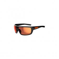 Okulary przeciwsłoneczne HIKING 300 kategoria 3. Czarne okulary przeciwsłoneczne damskie lenonki marki QUECHUA. Za 59,99 zł.