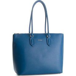 Torebka FURLA - Pin 963179 B BOA2 B30 Genziana e. Niebieskie torebki klasyczne damskie Furla, ze skóry, duże. Za 1079,00 zł.