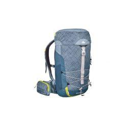 Plecak turystyczny MH100 20 l. Szare plecaki męskie marki QUECHUA, z elastanu. Za 79,99 zł.