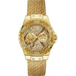 Guess Jeans - Zegarek W0775L13. Brązowe zegarki damskie Guess Jeans, szklane. Za 799,90 zł.