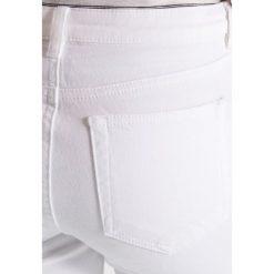 Rurki damskie: Warehouse Jeansy Slim Fit white