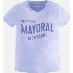 Mayoral - T-shirt dziecięcy 92-134 cm. Szare t-shirty chłopięce z nadrukiem marki bonprix, m, z dzianiny, z kontrastowym kołnierzykiem. Za 44,90 zł.