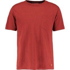 Armor lux HERITAGE BASIC Tshirt basic manganese. Niebieskie koszulki polo marki Tiffosi. Za 229,00 zł.